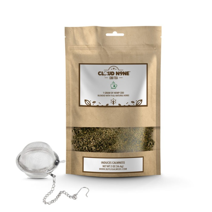 Cloud N9ne CBD Tea (1 gram of CBD Flower w/ 9 All-Natural Herbs)