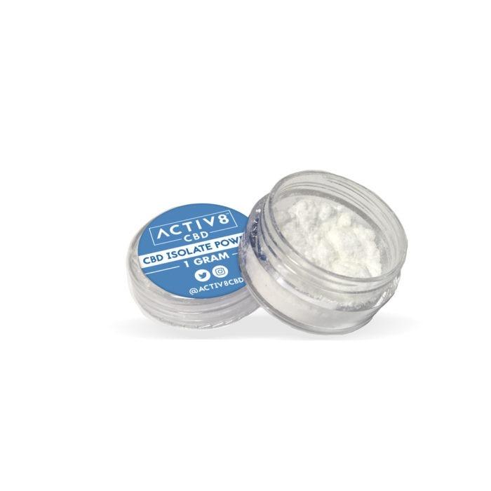 CBD Edibles - ACTIV8 CBD Isolate Powder – 1000mg CBD