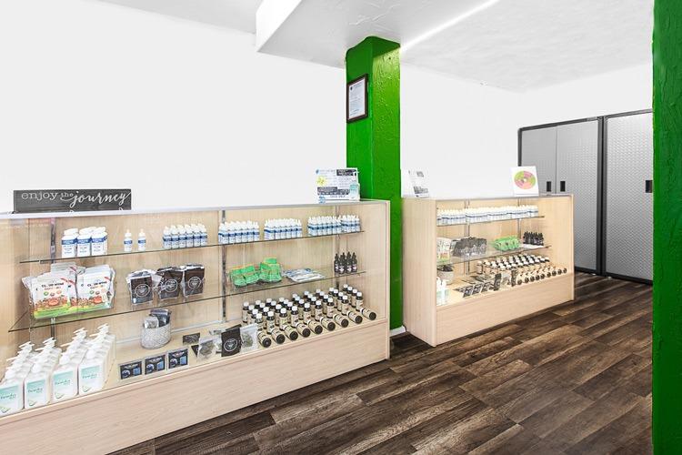 Photo of las vegas strip cbd store location.