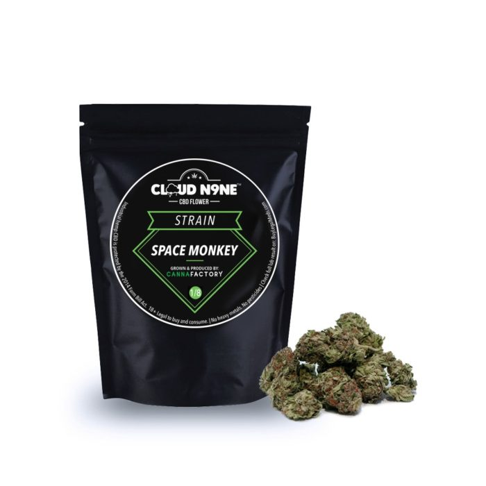 Cloud N9ne CBD Flower – Strain: Space Monkey