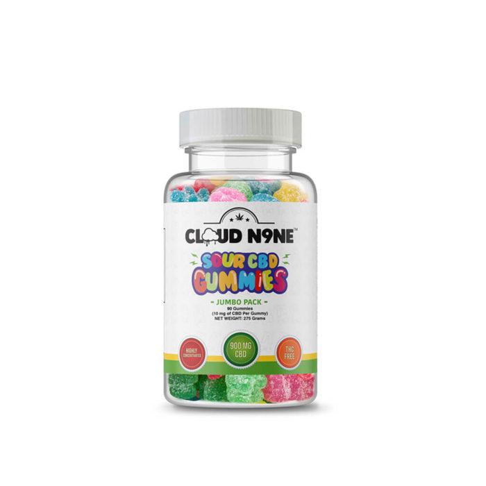Cloud N9ne CBD Sour Gummies - Day Time - 90 Pack (10mg CBD per gummy) - Buy Legal Meds - best online CBD store