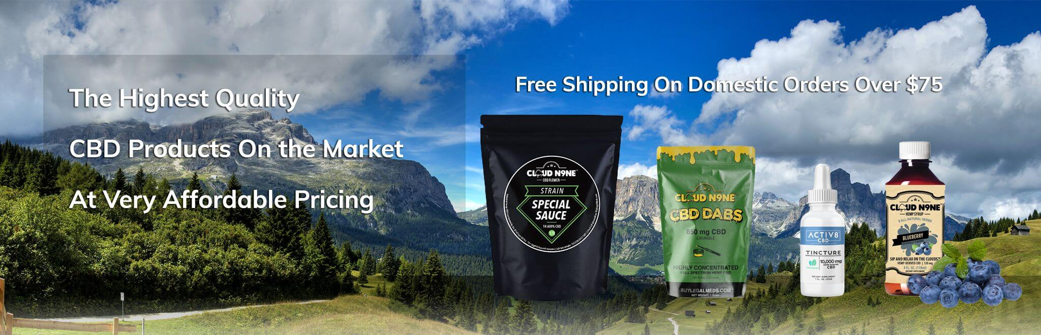 Affordable CBD products